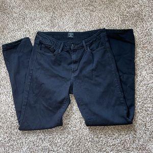 {JUSTBLACK} Stretchy Black Jeans